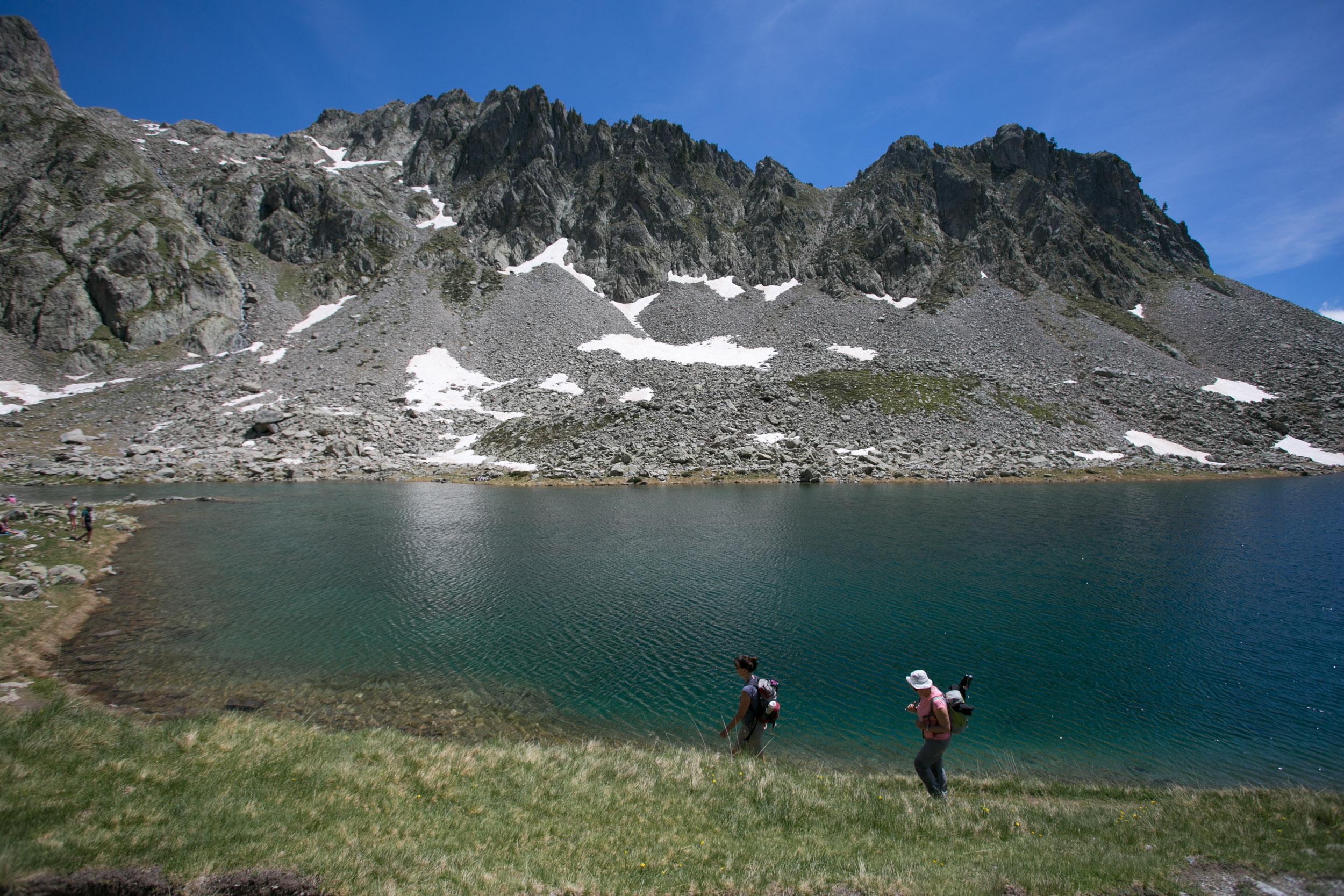 Lac Mercantour randonnée Rando06