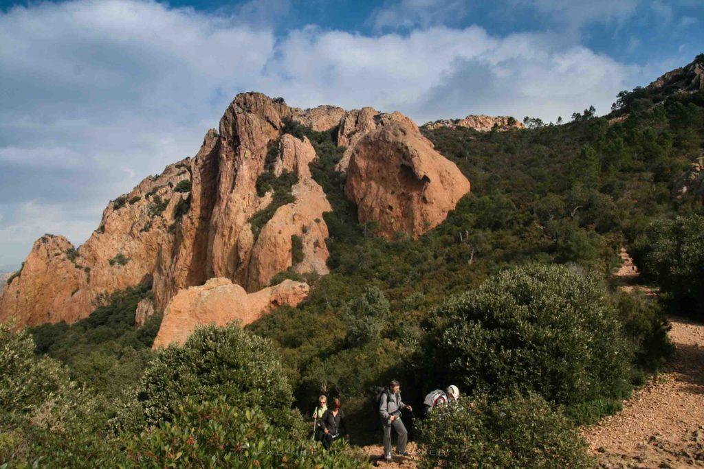Randonnée Pic du Cap Roux Esterel avec Rando06