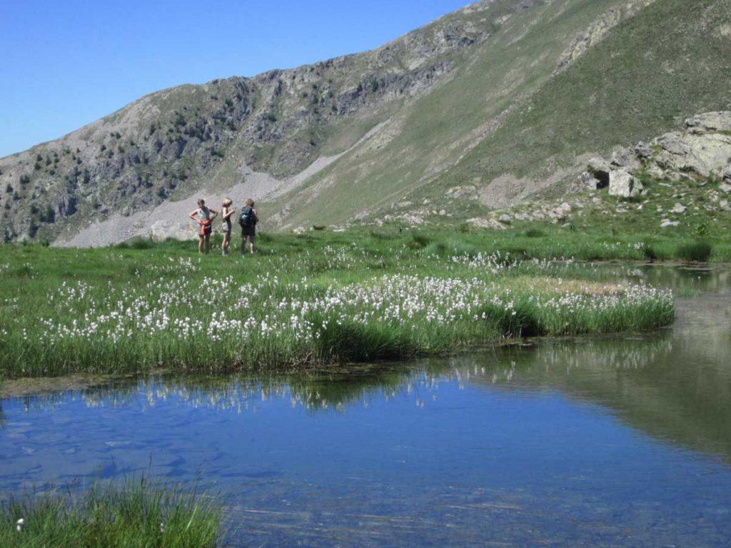 Lacs millefonds Mercantour rando