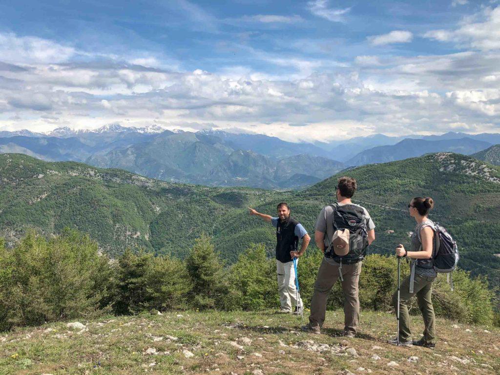 Randonnée cime de Beaudon depuis Peille en pays niçois