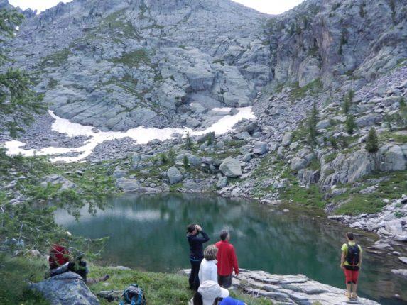 randonnée lac sauvage mercantour gordolasque