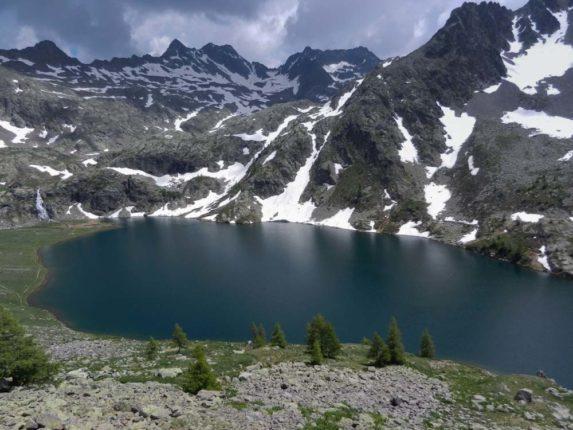 Randonnée lac Mercantour Vens