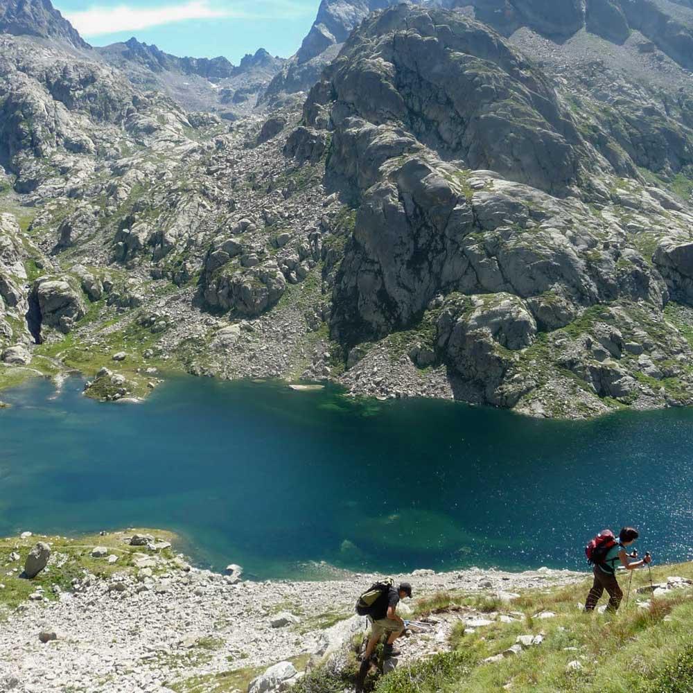 lac mercantour gordolasque randonnée
