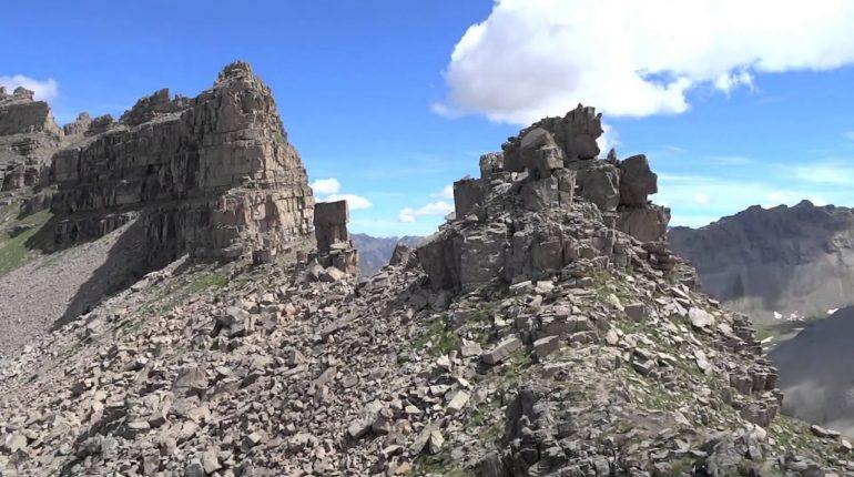 randonnée mercantour roche trouée