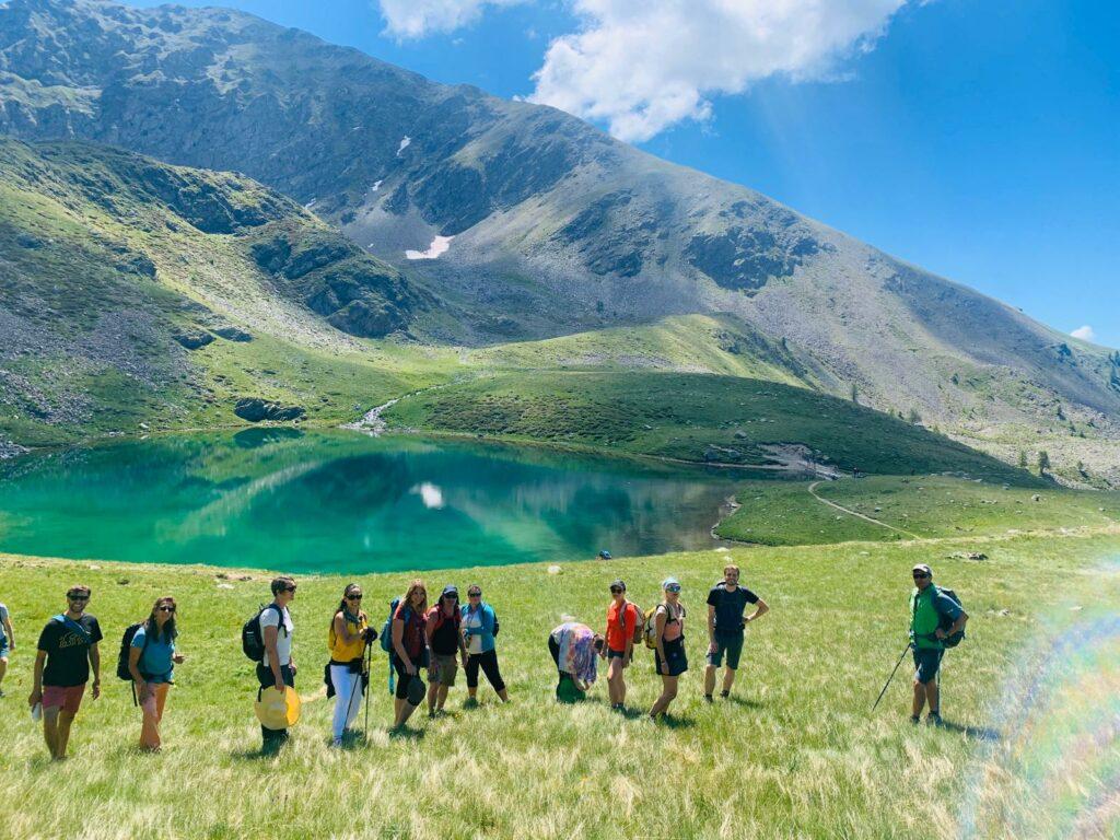 Randonnée vers les lacs du Mercantour