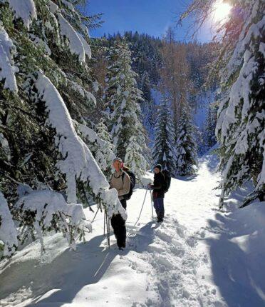 Randonnée raquettes à neige Mercantour Rando06 Fabhikes