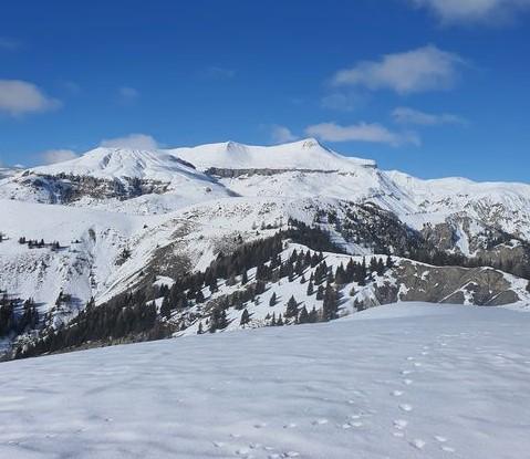 randonnée raquettes mercantour valberg Mt brussière avec rando06