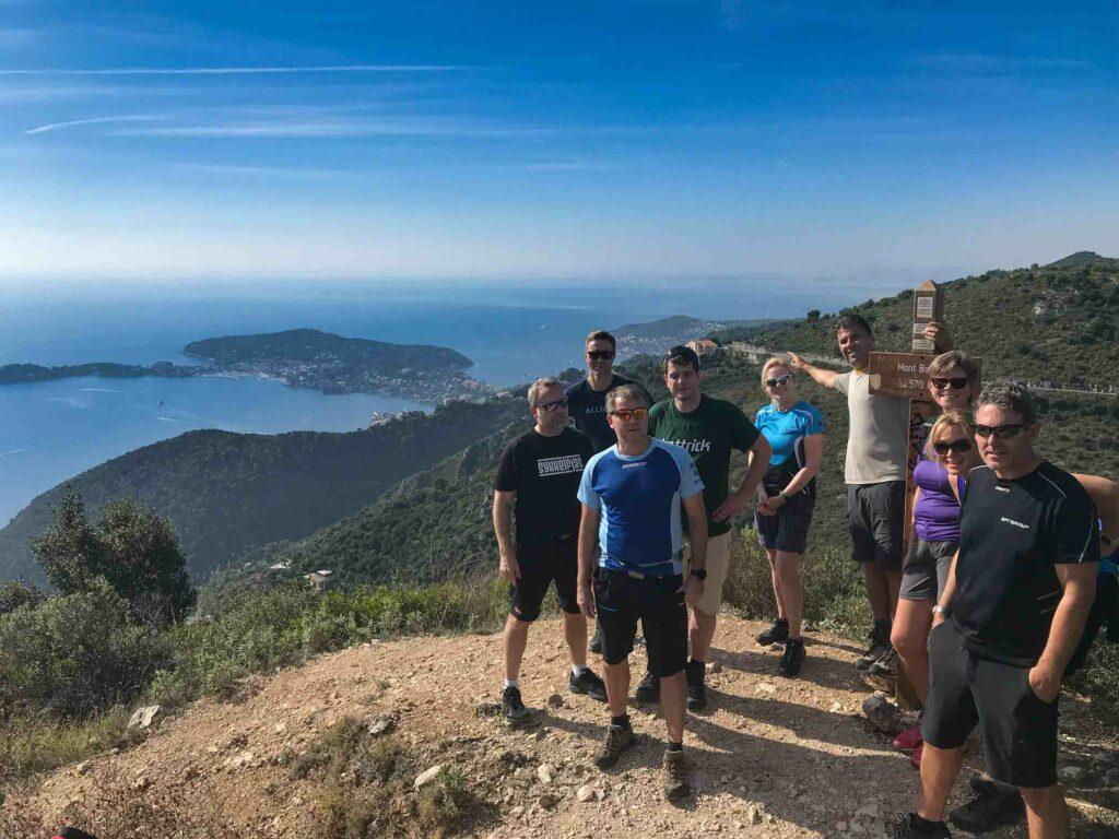 randonnée Eze sur mer Mont Bastide chemin de Nietzsche