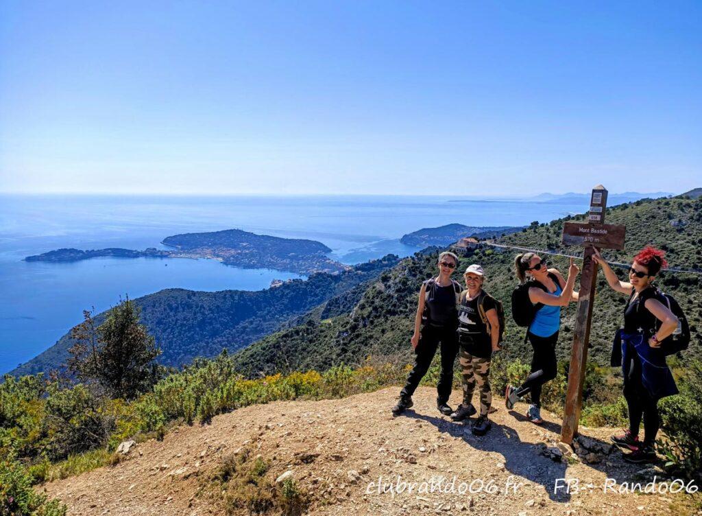 Randonnée Eze sur mer Mont Bastide cote d'azur avec Rando06