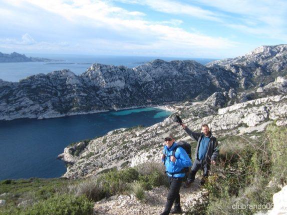 calanques randonnée géologie