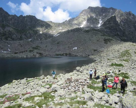 Randonnée lac Valmasque Mercantour