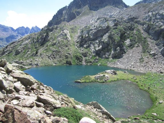 lac d'orgials randonnée Isola 2000 piémont rando