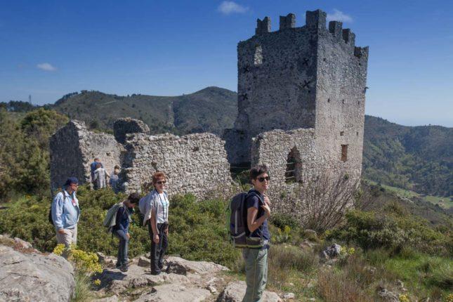randonnée châteauneuf villevielle mont macaron Nice rando06