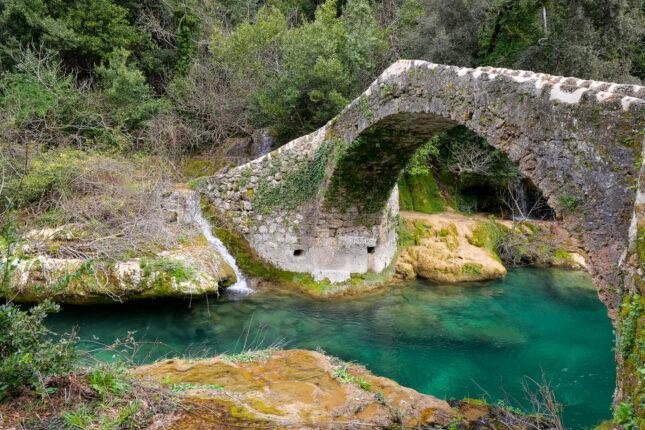 saint cezaire randonnée pont des tuves