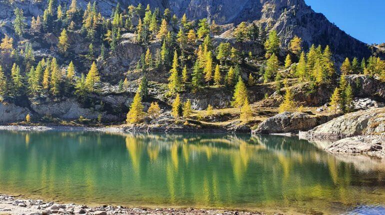 lac mercantour automne rando06